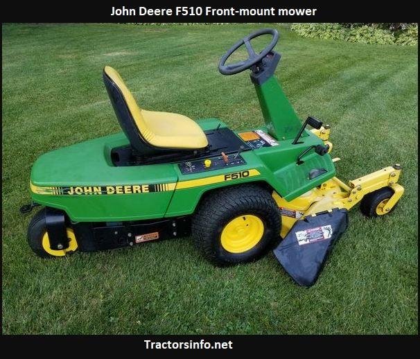 John Deere F510 Price, Specs, Review, Attachments