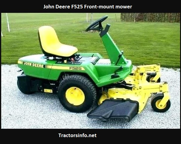 John Deere F525 Price, Specs, Review, Attachments