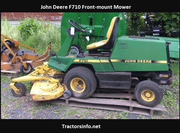 John Deere F710 Specs, Price, Reviews, Attachments