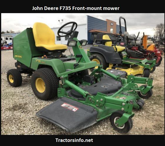 John Deere F735 Price, Specs, Review, Attachments