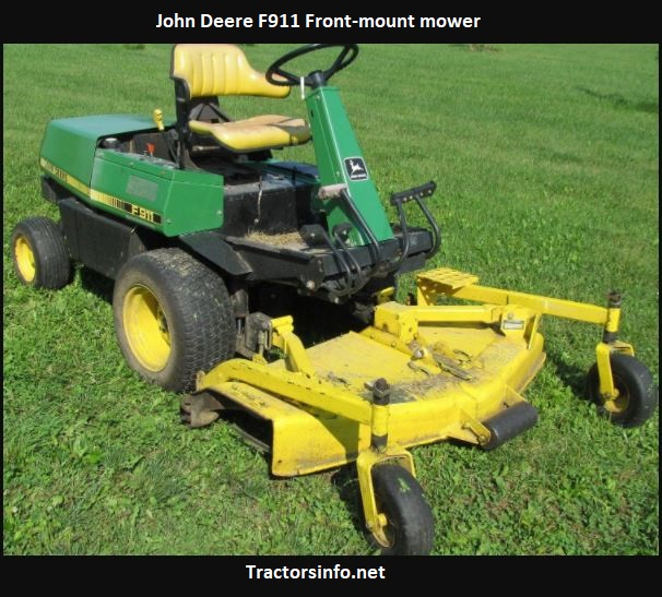 John Deere F911 Price, Specs, Review, Attachments