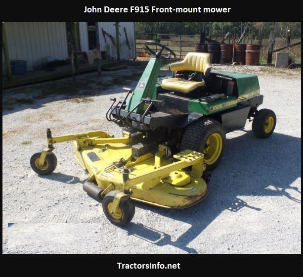 John Deere F915 Price, Specs, Review, Attachments
