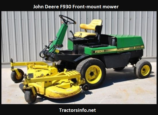 John Deere F930 Price, HP, Specs, Review, Attachments