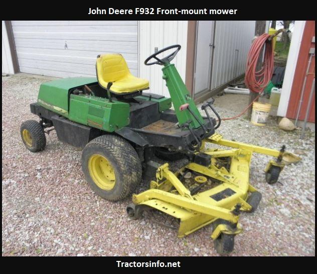 John Deere F932 Specs, Price, Review, Attachments