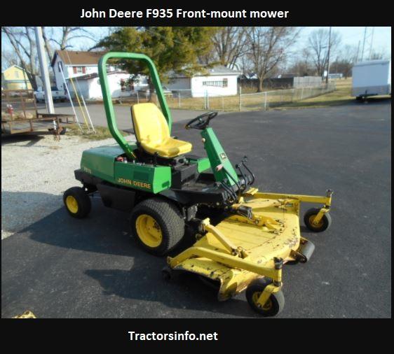 John Deere F935 Price, Specs, Review, Attachments