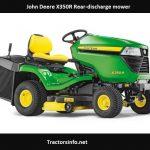 John Deere X350R Price, Specs, Review, Attachments
