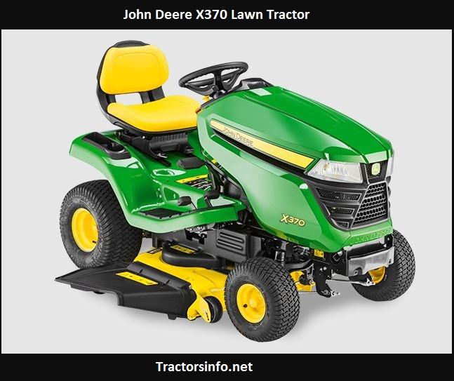 John Deere X370 Price, Specs, Review, Attachments