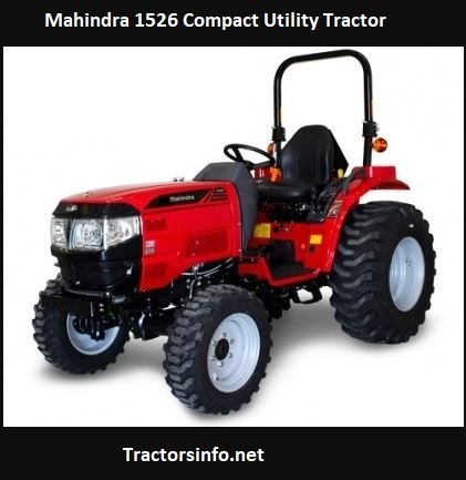 Mahindra 1526 Price, Specs, Review, Attachments