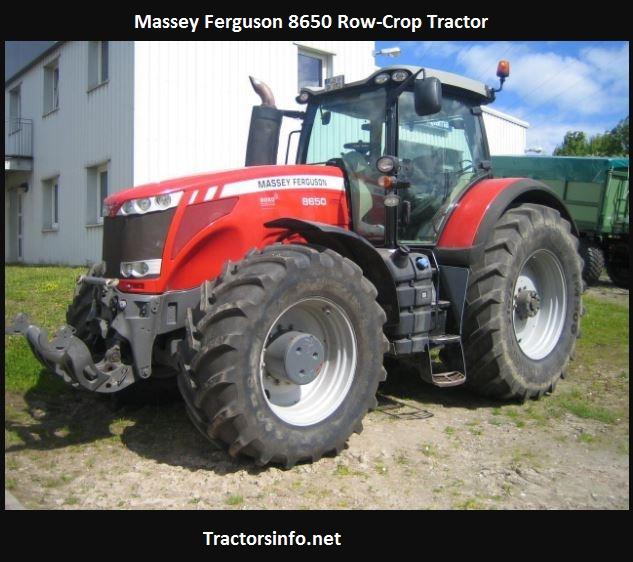 Massey Ferguson 8650 Price, Specs, Reviews, Attachments