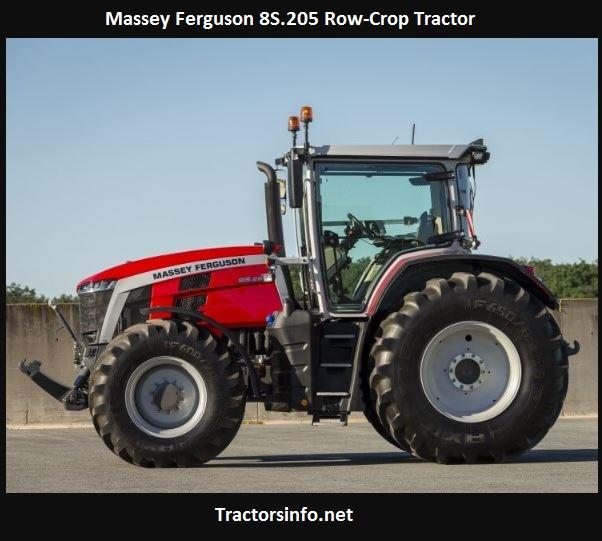 Massey Ferguson 8S.205 Price, Specs, Review