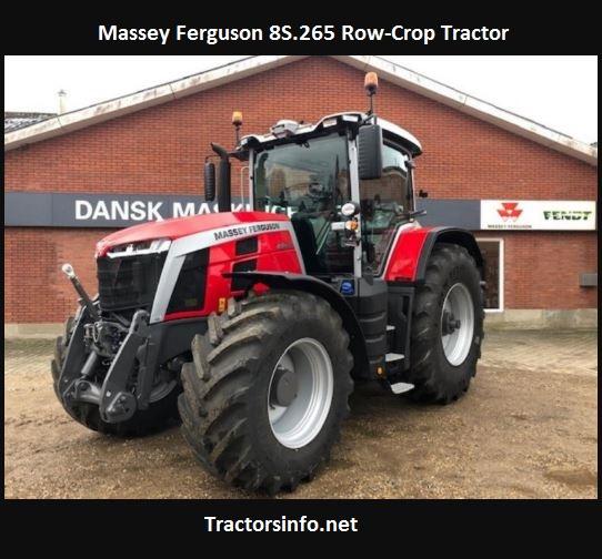 Massey Ferguson 8S.265 Row-Crop Tractor Price, Specs, Review