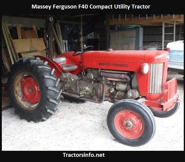 Massey Ferguson F40 Price, Specs, HP, Review