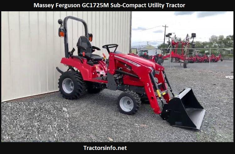 Massey Ferguson GC1725M Price, Specs, Review, Attachments