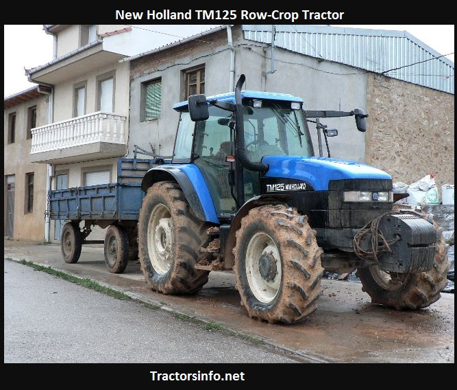 New Holland TM125 Price, Specs, Review, Attachments