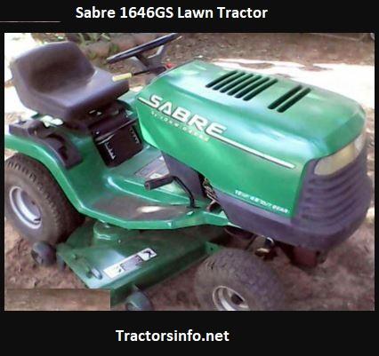 Sabre 1646GS Lawn Tractor Price, Specs, HP, Attachments