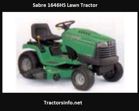 Sabre 1646HS Price, Specs, Review, Attachments
