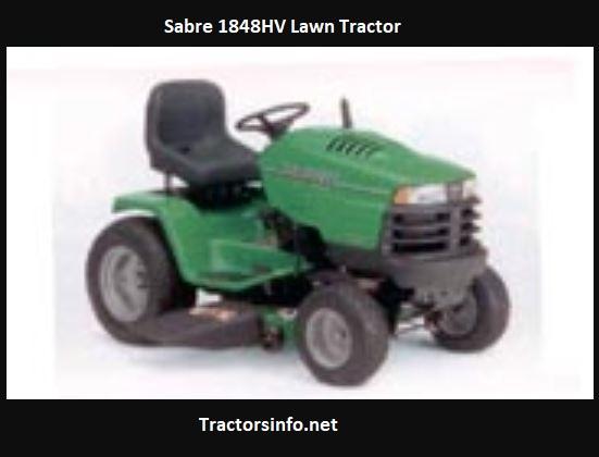 Sabre 1848HV Lawn Tractor Price, Specs, Attachments