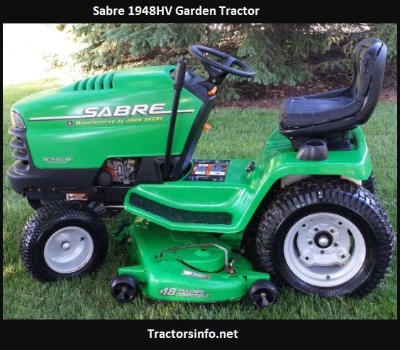 Sabre 1948HV Garden Tractor Price, Specs, Attachments