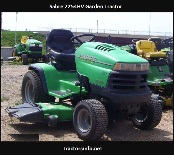 Sabre 2254HV Garden Tractor Price, Specs, Attachments