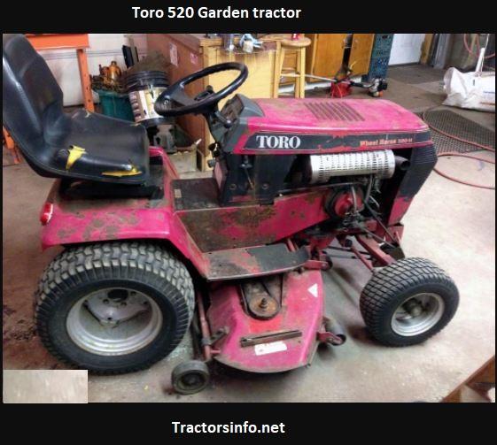 Toro 520 Garden Tractor Price, Specs, Attachments