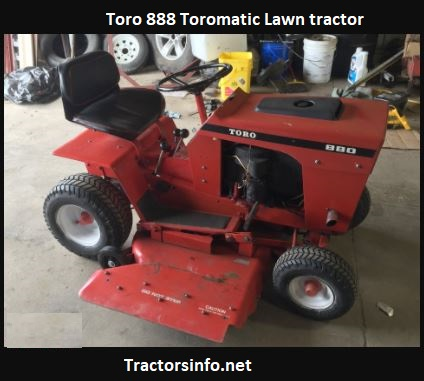 Toro 888 Toromatic Lawn Tractor Price, Specs, Review