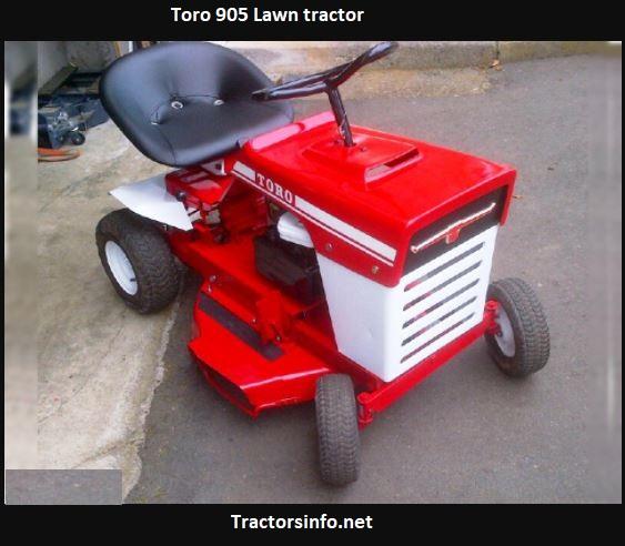 Toro 905 Lawn Tractor Price, Specs, Review, Attachments
