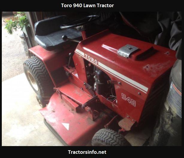 Toro 940 Lawn Tractor Price, Specs, Review, Attachments