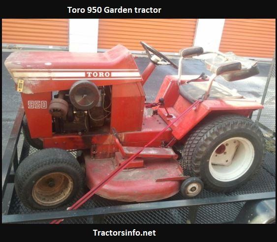 Toro 950 Garden Tractor Price, Specs, Review, Attachments