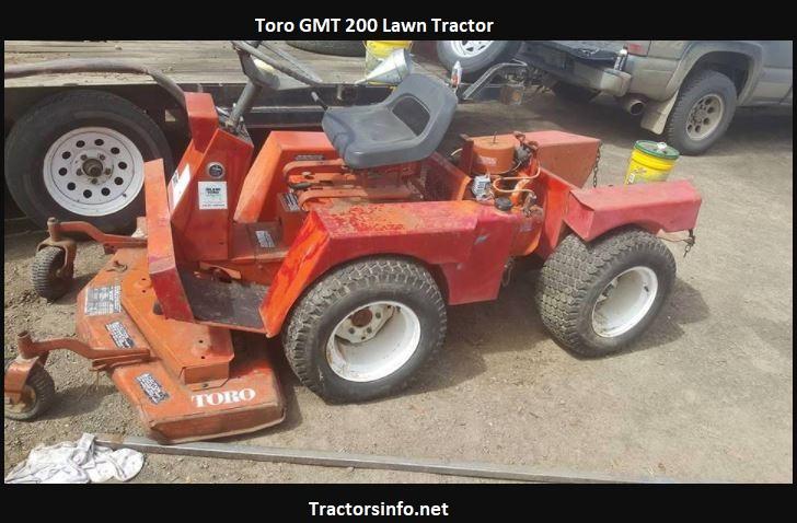 Toro GMT 200 Price, Specs, Review, Attachments