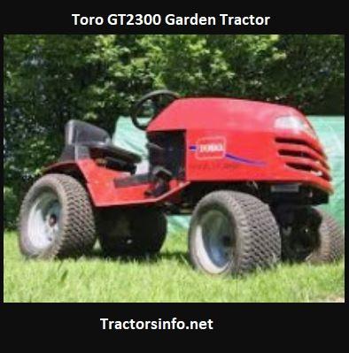 Toro GT2300 Price, Specs, Review, Attachments