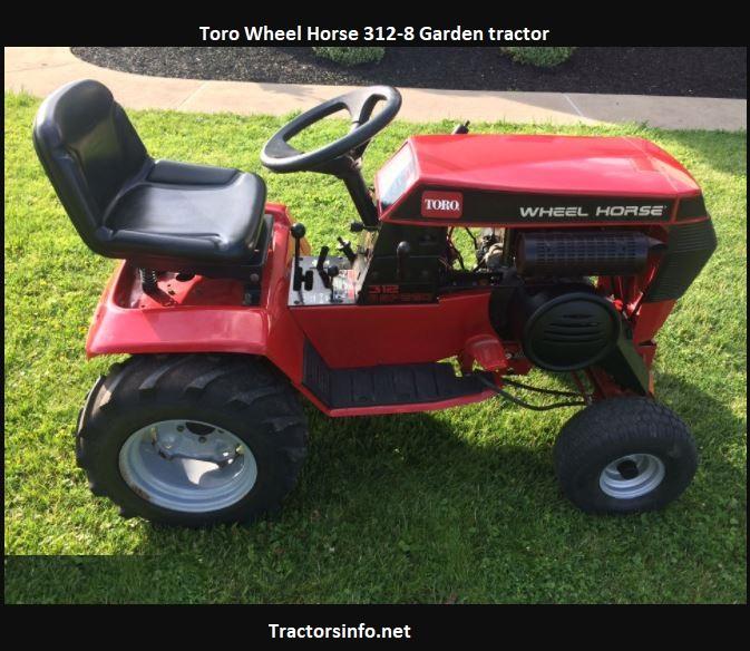 Toro Wheel Horse 312-8 Price, Specs, Review, Attachments