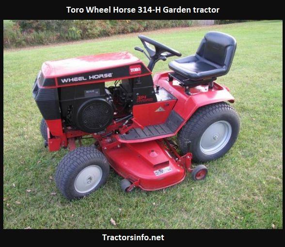 Toro Wheel Horse 314-H Price, Specs, Review, Attachments