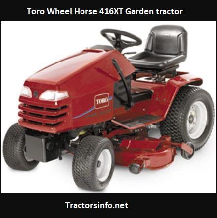 Toro Wheel Horse 416XT Price, Specs, Review, Attachments