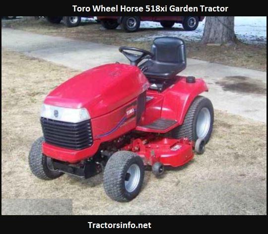 Toro Wheel Horse 518xi Price, Specs, Attachments
