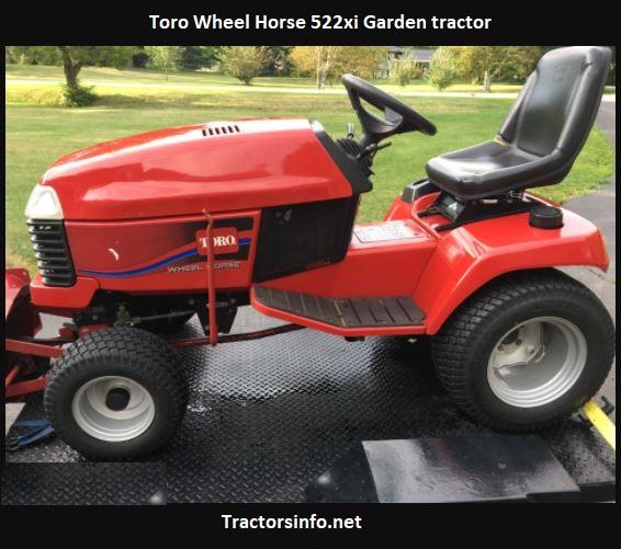 Toro Wheel Horse 522xi Price, Specs, Review, Attachments