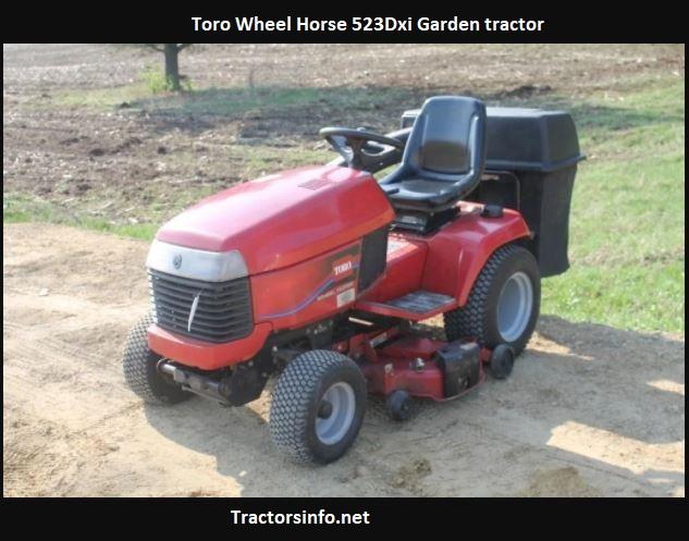 Toro Wheel Horse 523Dxi Price, Specs, Review, Attachments