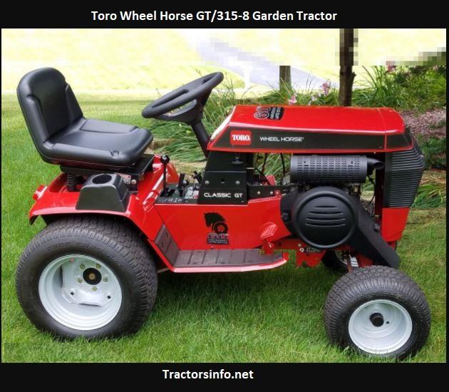 Toro Wheel Horse GT-315-8 Price, Specs, Attachments
