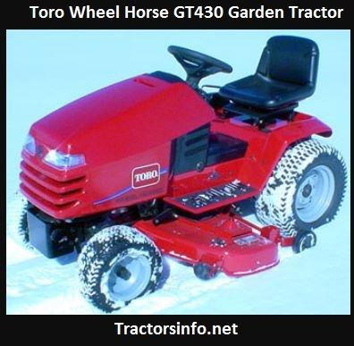 Toro Wheel Horse GT430 Price, Specs, HP, Attachments