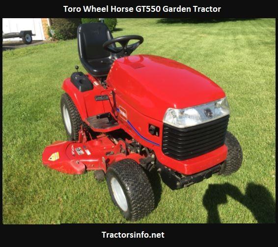 Toro Wheel Horse GT550 Price, Specs, Review, Attachments