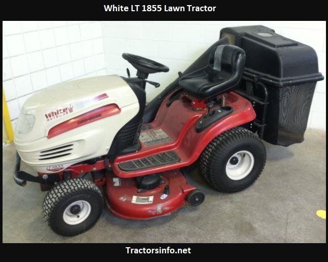 White LT 1855 Lawn Tractor Price, Specs, Attachments