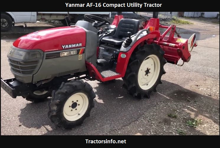 Yanmar AF-16 Compact Utility Tractor Price, Specs, Features