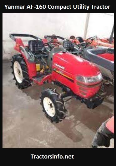 Yanmar AF-160 Mini Tractor Price, Specs, Features