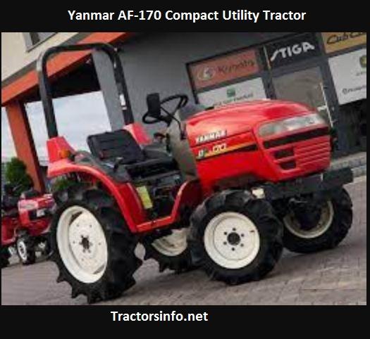 Yanmar AF-170 Horsepower, Price, Specs, Review