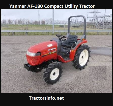 Yanmar AF-180 Compact Utility Tractor Price, Specs, Review