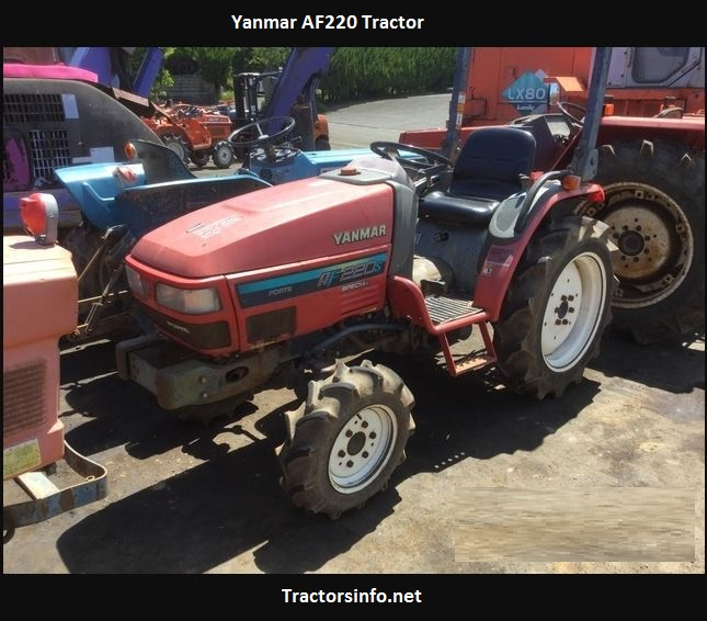 Yanmar AF220 Tractor Price, Specs, Review