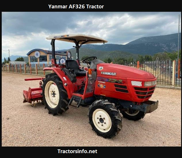 Yanmar AF326 Tractor Price, Specs, Review