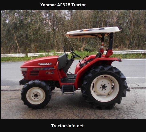 Yanmar AF328 Tractor Price, Specs, Features