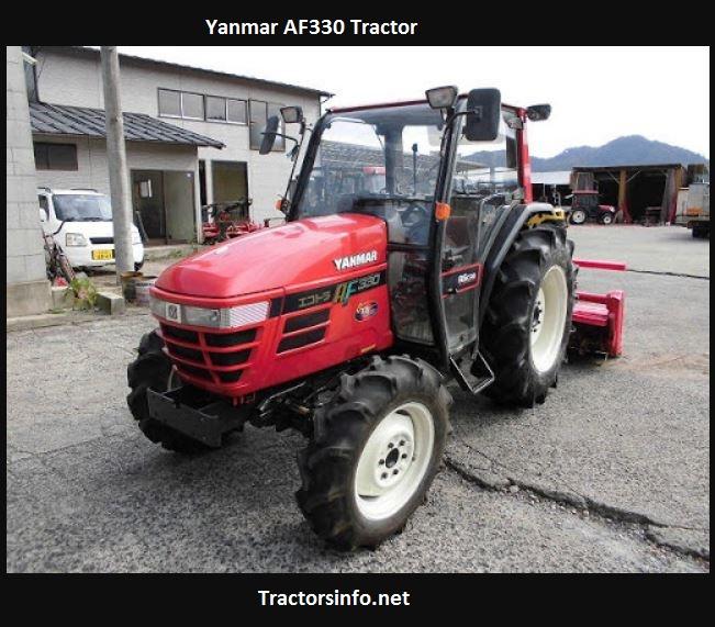 Yanmar AF330 Tractor Price, Specs, Features