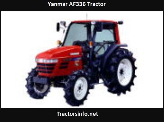 Yanmar AF336 Tractor HP, Price, Specs, Features