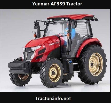 Yanmar AF339 Tractor Price, Specs, Features
